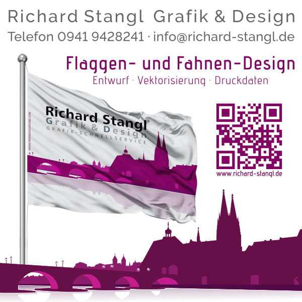 Richard Stangl Grafik & Design · Angebot preiswertes Flaggendesign. 1)