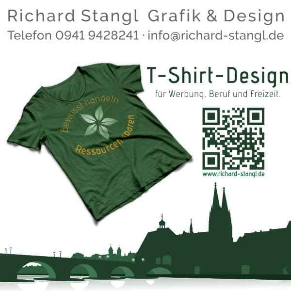 Richard Stangl Grafik & Design · Angebot preiswertes T-Shirt-Design. 1)